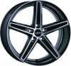 OXIGIN 18 Concave OXACHTZEHN10520K135BFPHD black full polish 10,5J x 20 (5x120 ET76,9)
