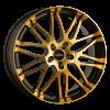OXIGIN 14 Oxrock OXVIERZEHN8518J42COP colour orange polish 85J x 18 (5x114,3 ET72,6)