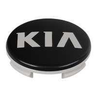 Kappe 60mm KIA black matt